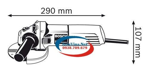 Máy mài góc GWS 8-100 CE professional